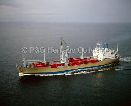 STRATHFYNE at sea