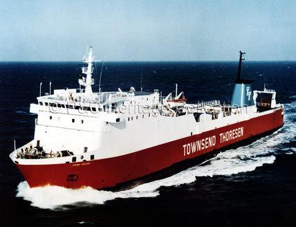 VIKING TRADER at sea