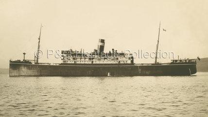 MANTOLA at sea