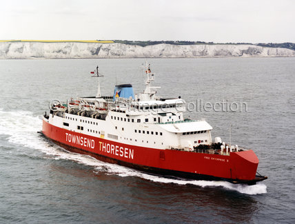 FREE ENTERPRISE V leaving Dover