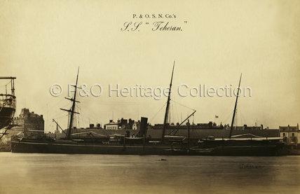 TEHERAN in harbour