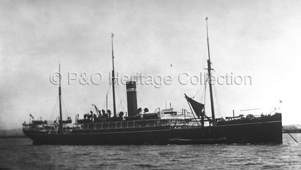 JELUNGA at anchor
