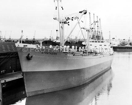 STRATHDIRK moored in port