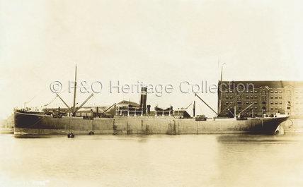 OBRA in dock