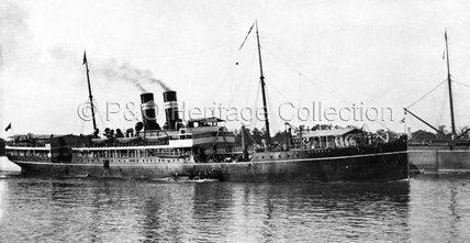 BANGALA in port