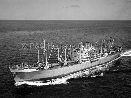 STRATHLEVEN at sea
