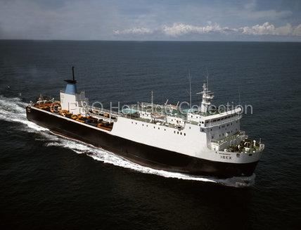 IBEX at sea