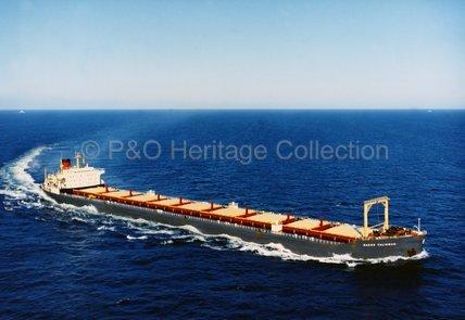NAESS TALISMAN at sea