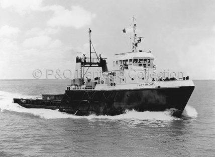 LADY RACHEL at sea