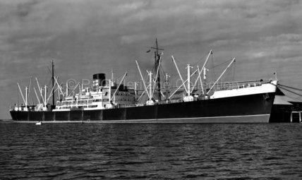 HUNTINGDON in port