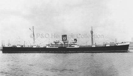 HINAKURA in harbour