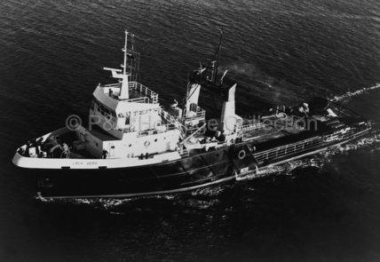 LADY VERA at sea
