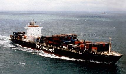 P&O NEDLLOYD JAKARTA at sea
