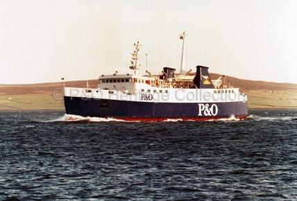 ST. OLA at sea