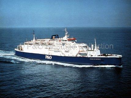 PRIDE OF RATHLIN at sea
