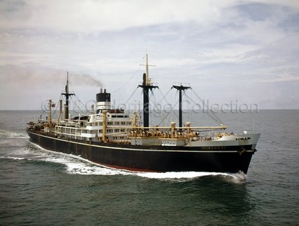NOWSHERA at sea