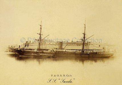 SUNDA (1866) at Southampton