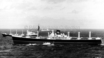 SUSSEX at sea