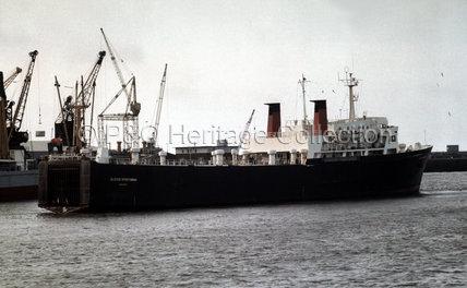 ULSTER SPORTSMAN in port