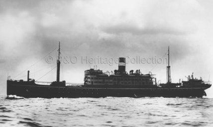 SANTHIA at sea