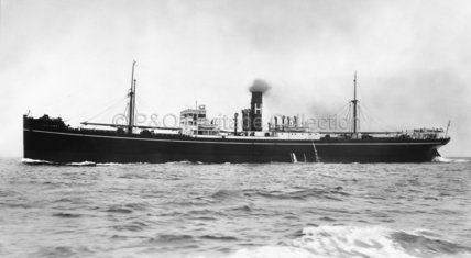 TRELAWNY at sea