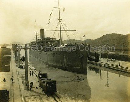 ROTORUA in the Pedro Miguel Lock, Panama Canal