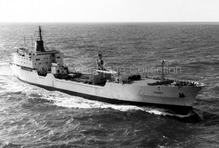 VOSGES at sea