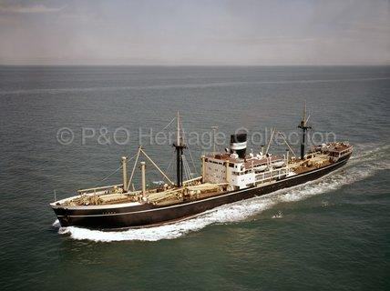 TANDA at sea
