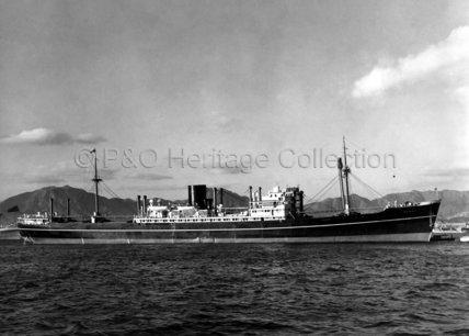 SOMALI moored in port