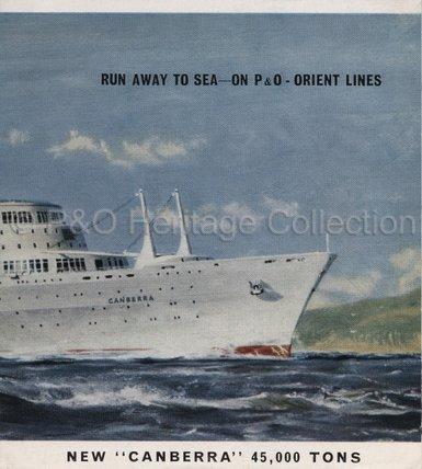 Run Away to Sea' brochure