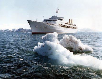 CANBERRA off Spitsbergen
