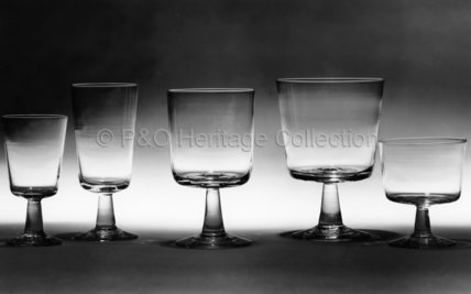 Selection of wine glasses from CANBERRA
