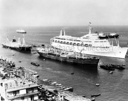 CANBERRA at Port Said