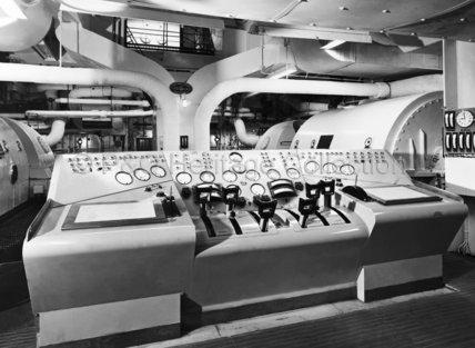 CANBERRA's Engine Room