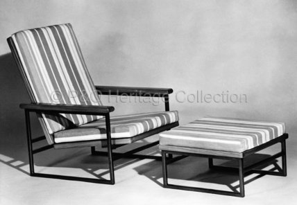 Tripos chair and footstool from CANBERRA