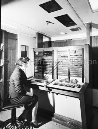 CANBERRA's Manual Telephone Exchange