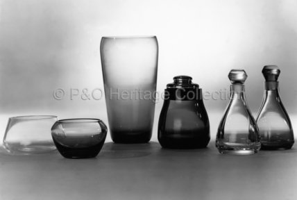 A selection of glassware from CANBERRA