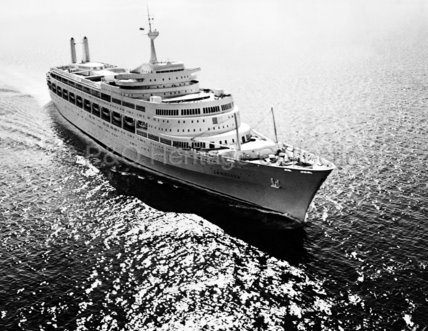 CANBERRA at sea