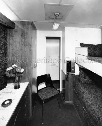 CANBERRA's First Class 2-berth cabin