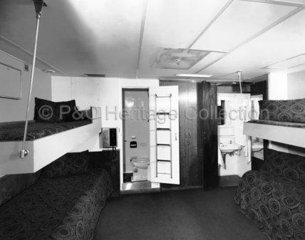 CANBERRA's First Class 4-berth cabin