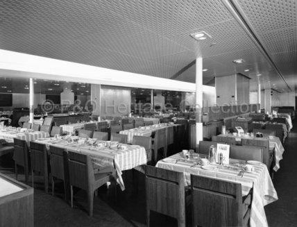 CANBERRA's Tourist Class restaurant