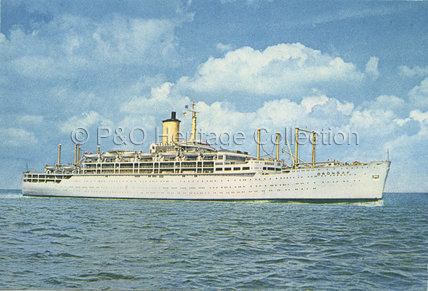 ORONSAY at sea
