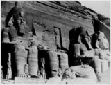 Abu Simbel, facade of the Temple of Ramesses II