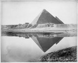 Giza Pyramids During Inundation