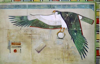 Horus falcon of Lower Egypt