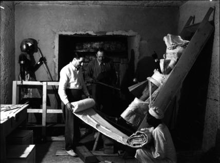 Howard Carter and Arthur Callender