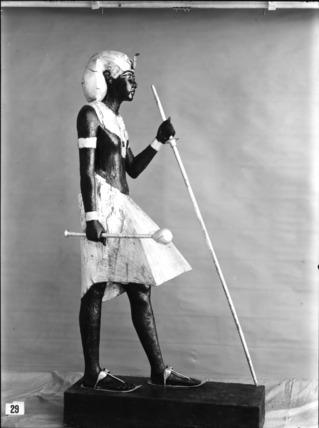 'Sentinel' statue of Tutankhamun