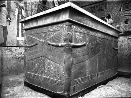 Tutankhamun's quartzite sarcophagus