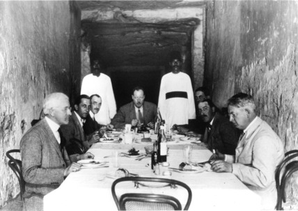 Lunch in the tomb of Ramesses XI