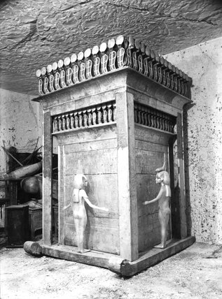 Tutankhamun's canopic chest
